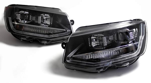 VW T6 Scheinwerfer LED mit Tagfahrlicht R87 Lieferumfang