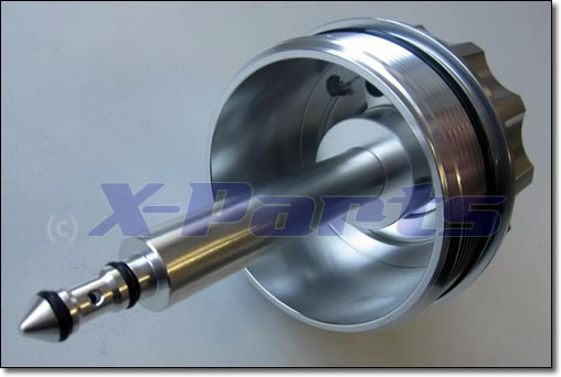 BMW 6 Zylinder Ölfilter Adapter mit 2-fach Geber