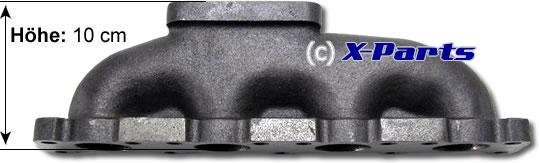 Turbo Krümmer für AUDI 1.8T mit T3/T4 Flansch
