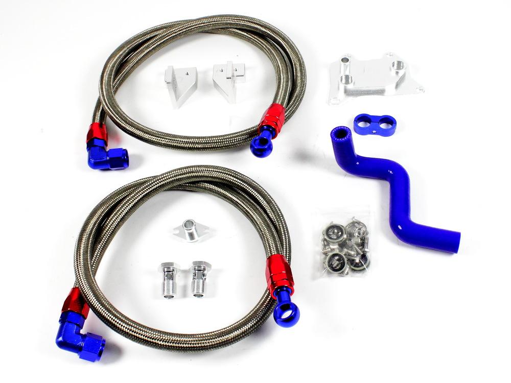 Ölkühler 6 Reihen Komplett Set Details