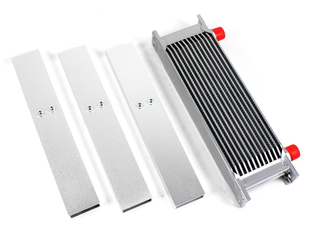 Ölkühler 6 Reihen Komplett Set Einzelheiten