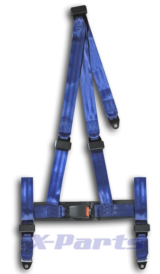 3 punkt gurt blau sportgurt e pr fzeichen neu gurte ebay. Black Bedroom Furniture Sets. Home Design Ideas