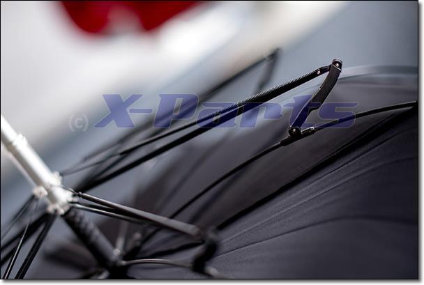 X-Parts Regenschirm High-Performance GFK Aluminium