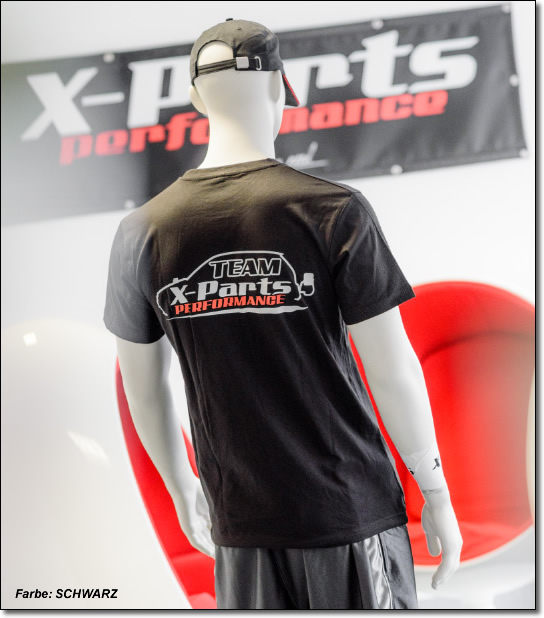 X-Parts PERFORMANCE T-Shirt R-Neck Rundhals Team 2016