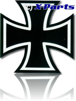 aufkleber eisernes kreuz iron cross heckscheibe 40cm ebay. Black Bedroom Furniture Sets. Home Design Ideas
