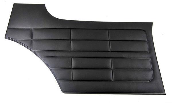 VW Karmann Ghia Türverkleidung innen 4er Set SCHWARZ Details